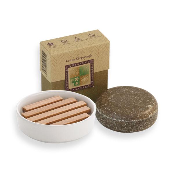 naturprodukte k hnle seifenschale mit bambuseinsatz und. Black Bedroom Furniture Sets. Home Design Ideas